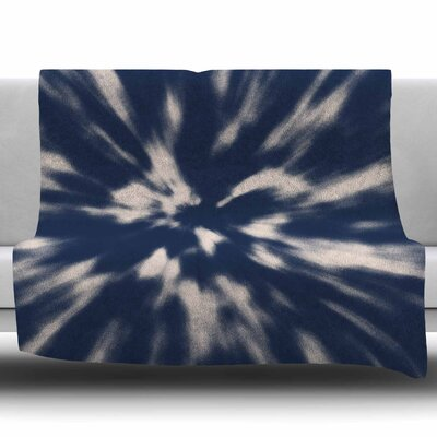 Tie Die by Nika Martinez Fleece Blanket Size: 60