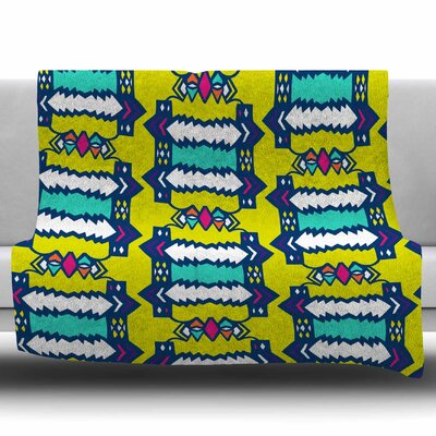 Party Vibes by Miranda Mol Fleece Blanket Size: 60 W x 80 L