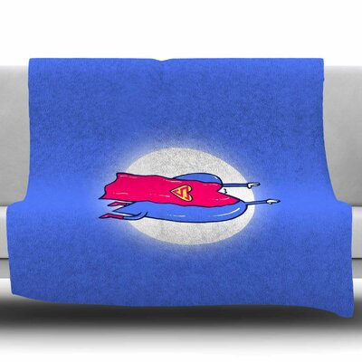 Superlove by BarmalisiRTB Fleece Blanket Size: 60 W x 80 L