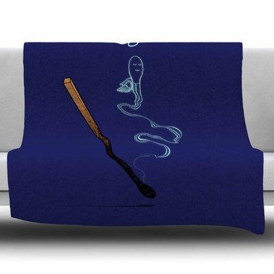 Matches By BarmalisiRTB Fleece Blanket Size: 60 L x 50 W x 1 D