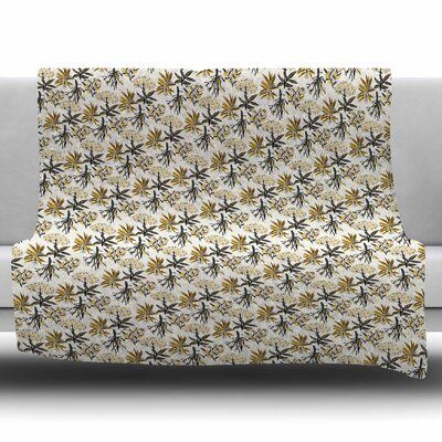 Golden Apothecary by Pom Graphic Design Fleece Blanket Size: 50 W x 60 L