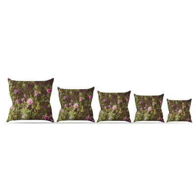 Lush by Ann Barnes Throw Pillow Size: 26 x 26