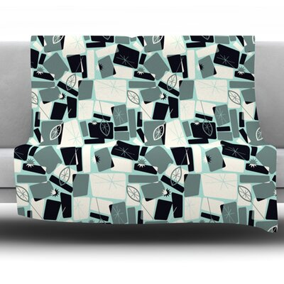 Vacation Days Chess by Allison Beilke Fleece Throw Blanket Size: 80 x 60