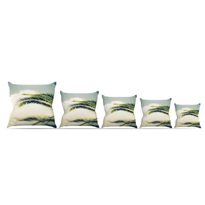 Summer Breeze by Ann Barnes Throw Pillow Size: 16