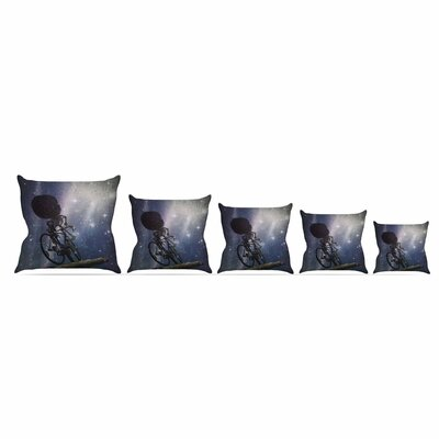 No Rest For The Wicked by Alyzen Moonshadow 16 Throw Pillow Size: 16 x 16