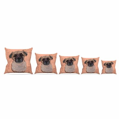 Mr. Milo by Art Love Passion Throw Pillow Size: 16 x 16