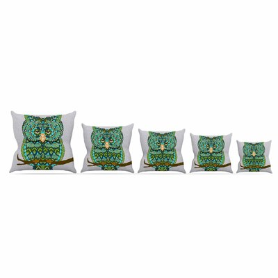 Great Owl by Art Love PassionThrow Pillow Size: 16 x 16