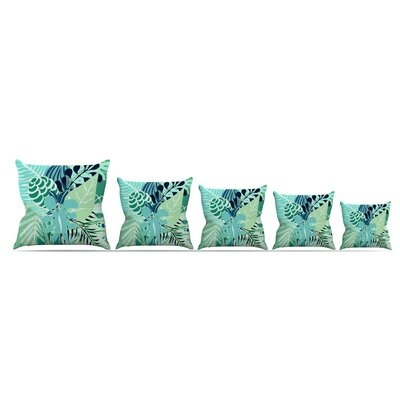 Giungla by Anchobee Throw Pillow Size: 18 x 18