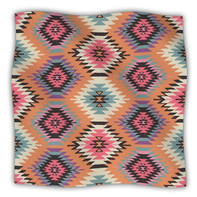 Navajo Dreams by Amanda Lane Fleece Throw Blanket Size: 60 L x 50 W