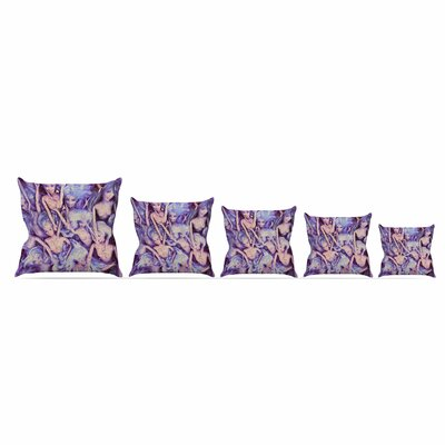 Wild Things by Alyzen Moonshadow Throw Pillow Size: 18 x 18