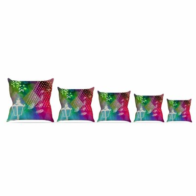 Escape by Alyzen Moonshadow Throw Pillow Size: 26 x 26