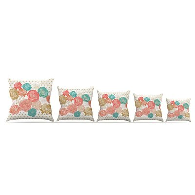 Spring Florals by Pellerina Design Throw Pillow Size: 16 x 16