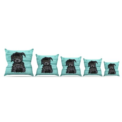 Little Miss Daisy by Art Love Passion Throw Pillow Size: 26