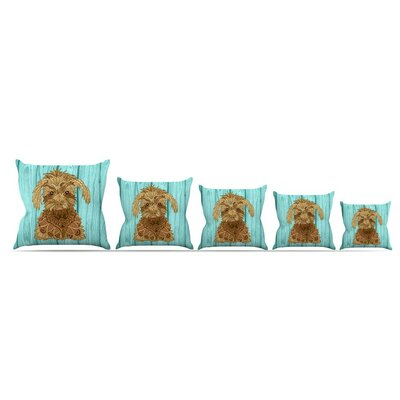 Gatsby The Great by Art Love Passion 16 Throw Pillow Size: 16 x 16