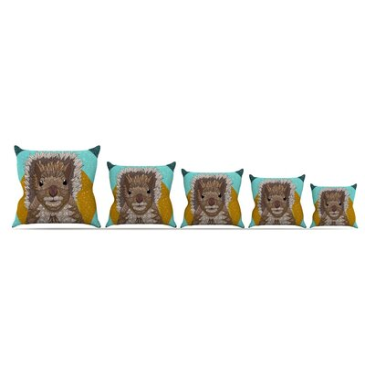 Squirrel by Art Love Passion Throw Pillow Size: 26 x 26