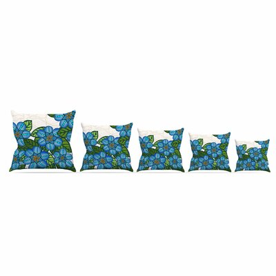 Flower Field by Art Love Passion Throw Pillow Size: 18 x 18