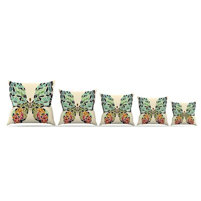 Butterfly by Art Love Passion Throw Pillow Size: 26 x 26
