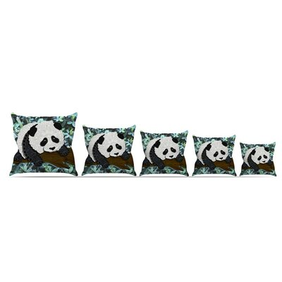 Panda by Art Love Passion Throw Pillow Size: 16 x 16