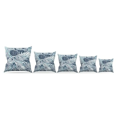 Marina by Anchobee Throw Pillow Size: 18 x 18