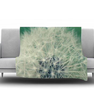 Fuzzy Wishes by Angie Turner Fleece Throw Blanket Size: 40 L x 30 W