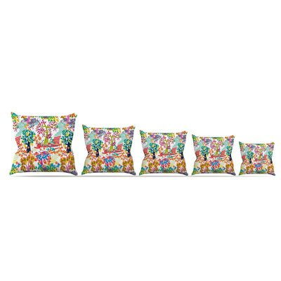 Fruit Of The Earth by Agnes Schugardt Throw Pillow Size: 16 x 16