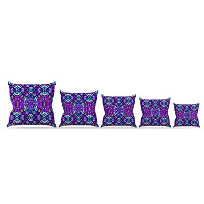 Kaleidoscope Dream Continued by Art Love Passion Throw Pillow Size: 26 x 26