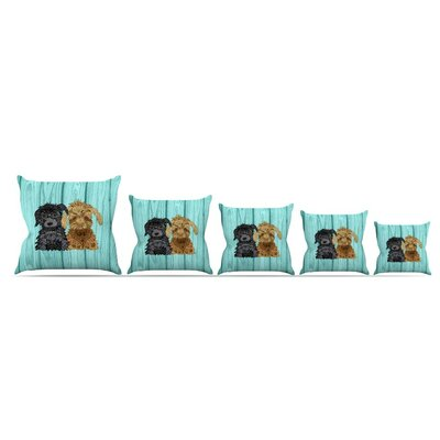 Daisy And Gatsby by Art Love Passion Throw Pillow Size: 26 x 26