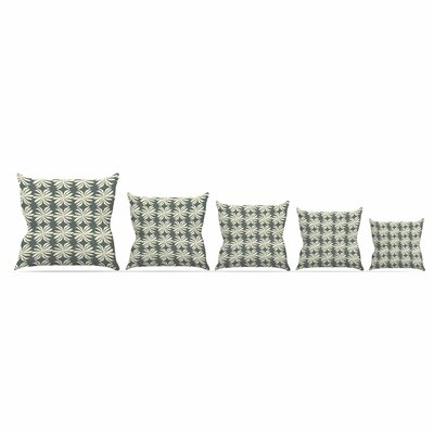 Palm by Amy Reber Throw Pillow Size: 26 x 26