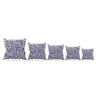 Bahar by Anchobee Throw Pillow Size: 18 x 18