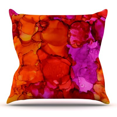 Fierce by Claire Day Throw Pillow Size: 18 x 18