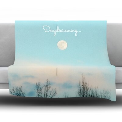 Day Dreaming by Beth Engel Fleece Throw Blanket Size: 60 L x 50 W
