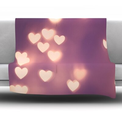 Your Love Is Electrifying by Beth Engel Fleece Throw Blanket Size: 80 x 60