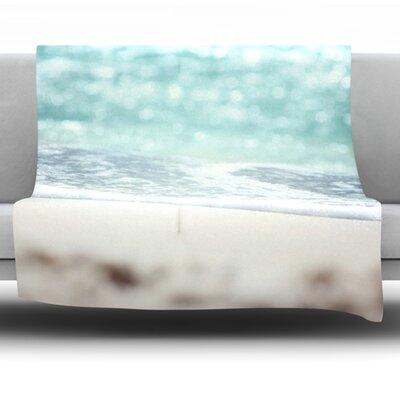 Serenity by Beth Engel Fleece Throw Blanket Size: 40 x 30