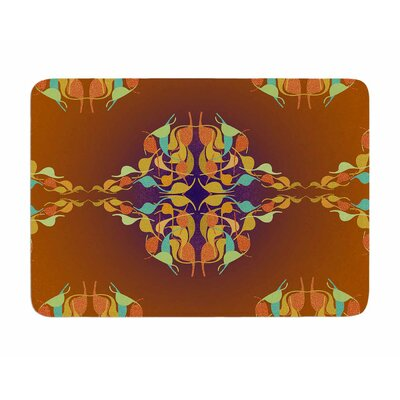 Feast by Dan Sekanwagi Memory Foam Bath Mat