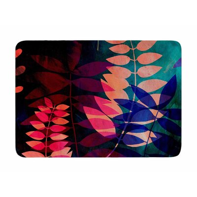 Dark Jungle by Jessica Wilde Memory Foam Bath Mat