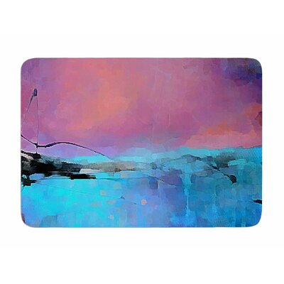 Versailles-Abstract by Oriana Cordero Memory Foam Bath Mat