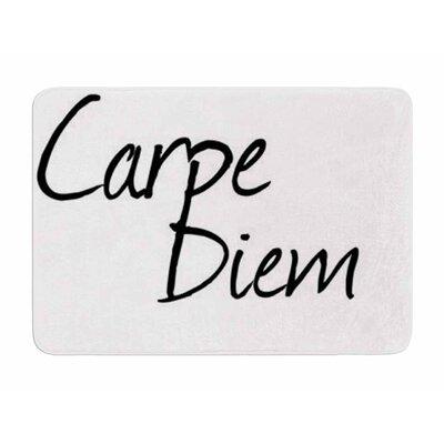 Carpe Diem by Oriana Cordero Memory Foam Bath Mat
