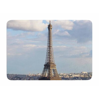 Eiffel Tower by Philip Brown Memory Foam Bath Mat