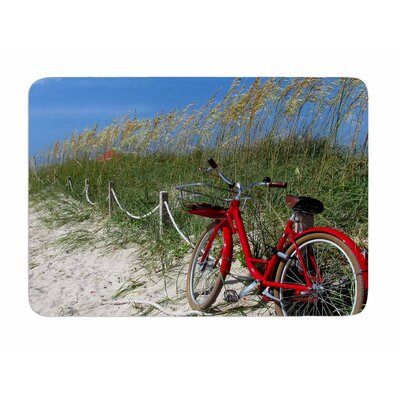 A Day at the Beach by Philip Brown Memory Foam Bath Mat