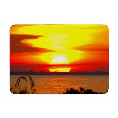 Sunrise on Sanibel by Philip Brown Memory Foam Bath Mat