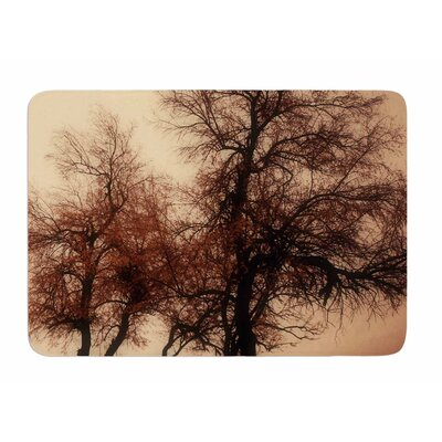 Rust Trees by Sylvia Comes Memory Foam Bath Mat
