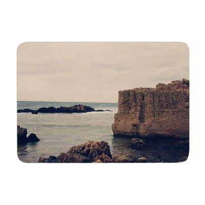 Mediterranean I by Sylvia Comes Memory Foam Bath Mat