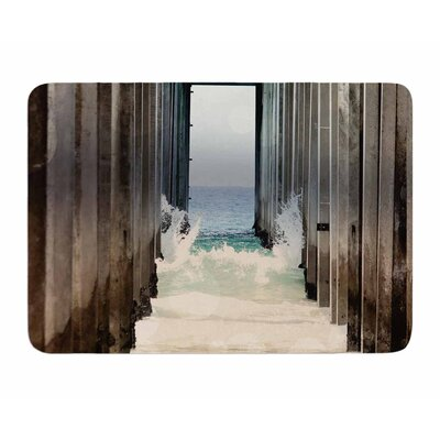 Under the Pier by Sylvia Comes Memory Foam Bath Mat