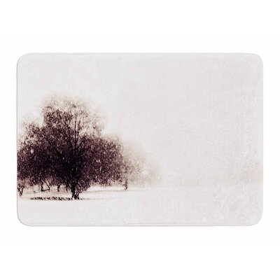 Winter Landscape by Sylvia Comes Memory Foam Bath Mat