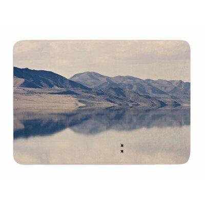 Reflective 1 by Sylvia Comes Memory Foam Bath Mat