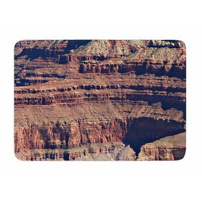 Grand Canyon Landscape 1 by Sylvia Comes Memory Foam Bath Mat