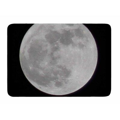 The Moon by Sylvia Comes Memory Foam Bath Mat