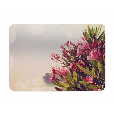 Flowers in Paradise by Sylvia Comes Memory Foam Bath Mat