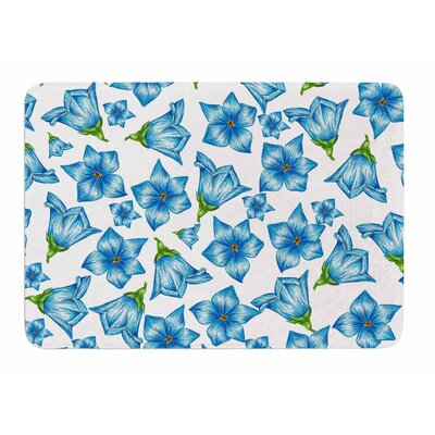 Flowers by Alisa Drukman Memory Foam Bath Mat