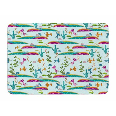 Under Sea by Alisa Drukman Memory Foam Bath Mat
